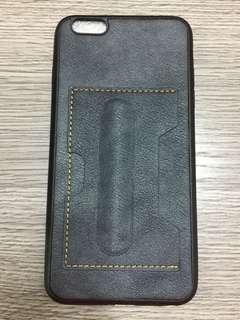 iphone 6/6S plus 電話殼咭套牛仔藍 Phone Case Jeans Blue w Card Slot
