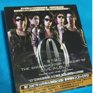 第二次亞洲巡迴演唱會``O``-(韓國進口初回限定版)