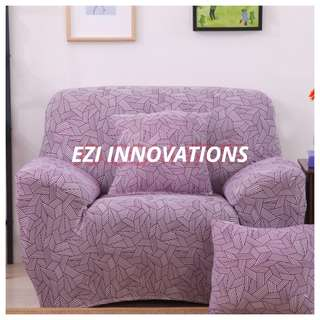 1/2/3 Seaters Elastic Sofa Cover - Melody Design