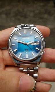 Jam tangan Rare Vintage Seiko Actus SS JDM Faceted Glass Full Original