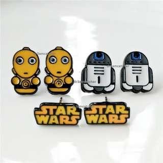 Star Wars earrings / ear studs