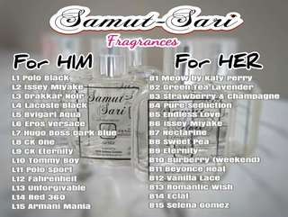 Perfume for Him and Her