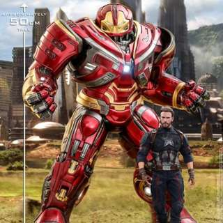 Hot Toys PPS005 Avengers Infinity War 1/6 scale Power Pose Hulkbuster PreOrder