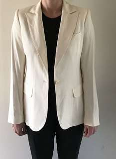 Paul & Joe Cream Blazer Size 38