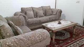 Sofa Set (free carpet & table)
