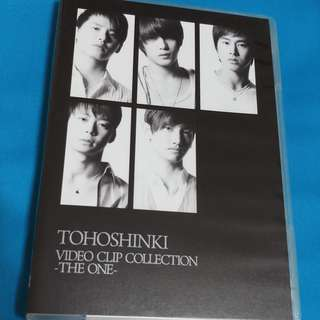 東方神起 Tohoshinki 音樂錄影帶精選 -THE ONE- VIDEO CLIP COLLECTION -THE ONE-    (DVD)