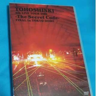 東方神起2009第四次巡迴演唱會~神起密碼~東京巨蛋最終場(日本進口藍光DVD) 4th LIVE TOUR 2009 ~The Secret Code~ FINAL in TOKYO DOME