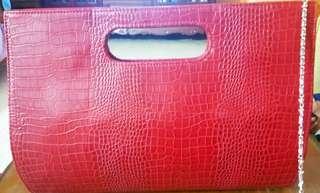 Preloved - Red Handbag