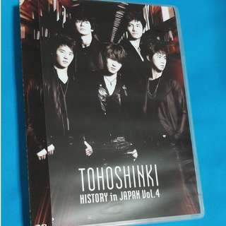東方神起 Tohoshinki 日本活動全記錄 Vol.4(普通版) HISTORY in JAPAN Vol.4    (DVD)