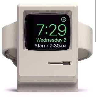 AppleWatch充電底座 經典IMac 做型 Iwatch 1秒變身Macintosh