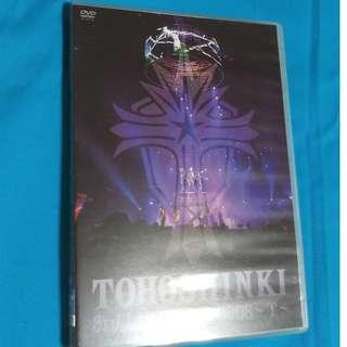 東方神起 Tohoshinki  3rd Live Tour 2008 ~T~(日本進口版)    (DVD)