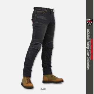Komine Kevlar PK-718 Denim Super Fit Riding Jeans