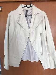 Cheryl Weir 100% Leather Jacket