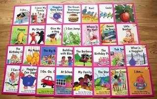 Sunshine Books Level 1~2 Pink Band (30 books)