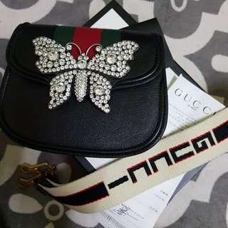 Gucci Butterfly Shoulder Bag