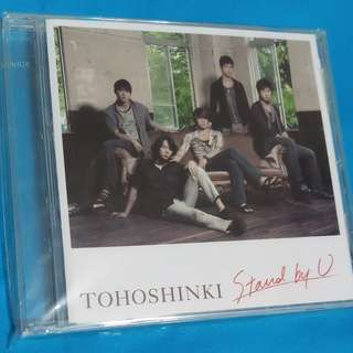 東方神起 Tohoshinki  Stand by U(日本進口)   (CD)