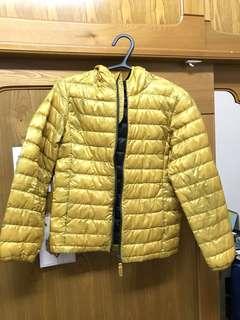 🚚 亮黃色羽絨外套