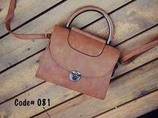Classic SImple Shoulder Bag with Clasp
