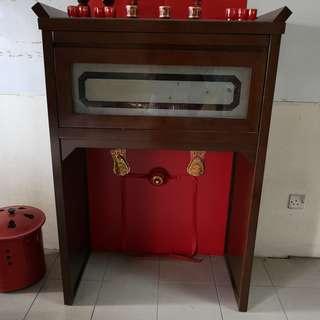 Chinese prayer table