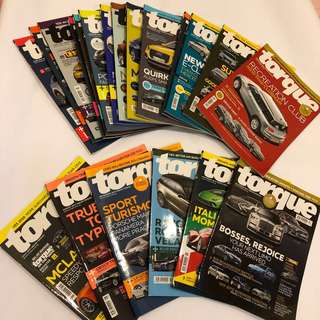 TORQUE car magazine (bundle sale)