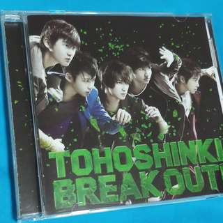 東方神起 Tohoshinki  BREAK OUT!(CD)