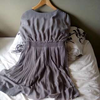 Beautiful Feminine Grey IORA Dress (M)