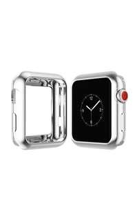 AppleWatch 電鍍錶殻 超薄設計 一秒變不銹鋼款 for 42MM series 1/2/3