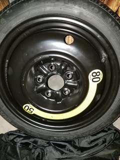 Spare tyre for Toyota CHR, Kia K3, Honda vezel
