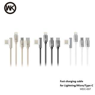 WK data&charging cable ios&android&typeC