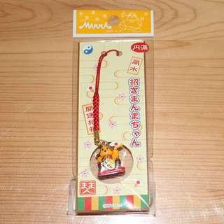 【HW-O70】日本製 風水 開運 招福 手機吊飾