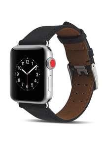 AppleWatch 皮革錶帶連保護殻 42MM series 1/2/3 AppleWatch strap