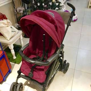 Peg Perego P3 Compact (Pink) - made in Italy