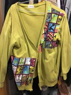🚚 (二手)紀卜心網拍社團購入 超特別寬鬆外套