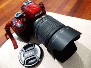 Nikon D3200 with HOYA Lens Filter