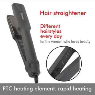 🔥 KEMEI - Professional Hair Straighteners Flat Iron