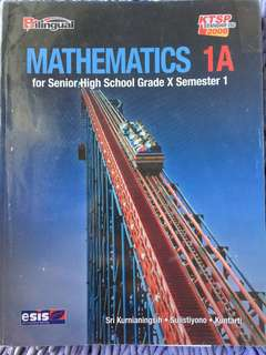 MATHEMATICS 1A for grade 10