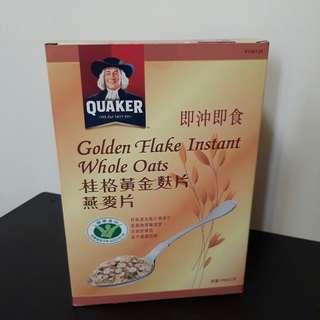 🚚 桂格黃金麩片燕麥片( 1.7公斤)