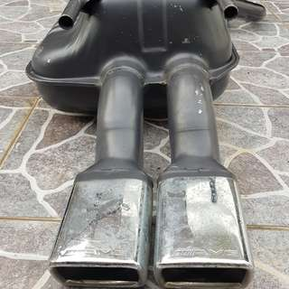 Mercedes Benz Exhaust