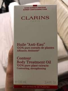 Clarin contour body oil treatment