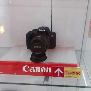 Canon Camera Eos750D Kredit Camera 3 Menit Tanpa DP