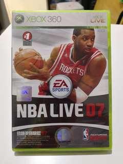 XBox 360 NBA Live 07