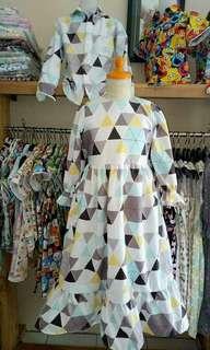 Dress Gamis Shafia Fashion