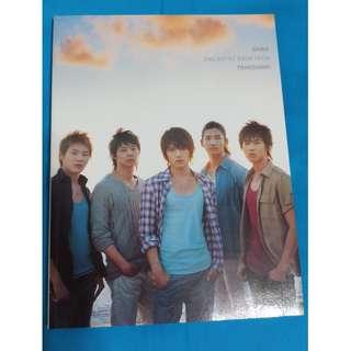 東方神起-Shine 2nd Artist Book 寫真拍攝DVD