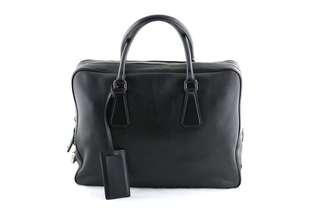 Prada Leather Travel Briefcase