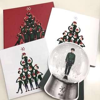 🚚 EXO 12月的奇蹟 進口版專輯
