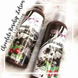 Chocolate Rosehip Scar Lightening Lotion