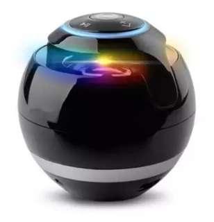Amazon foreign trade burst round seven color Bluetooth sound box creative gift mini sound