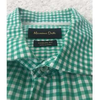 Massimo Dutti Men's Casual Fit Shirt