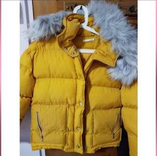 Winter Down Jacket (Yellow)