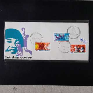 Singapore  1972 (youth series)First Day Cover